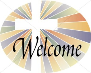 Welcome With Cross