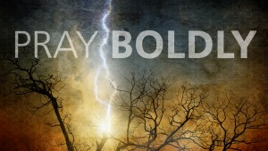 Pray Boldly - lightning