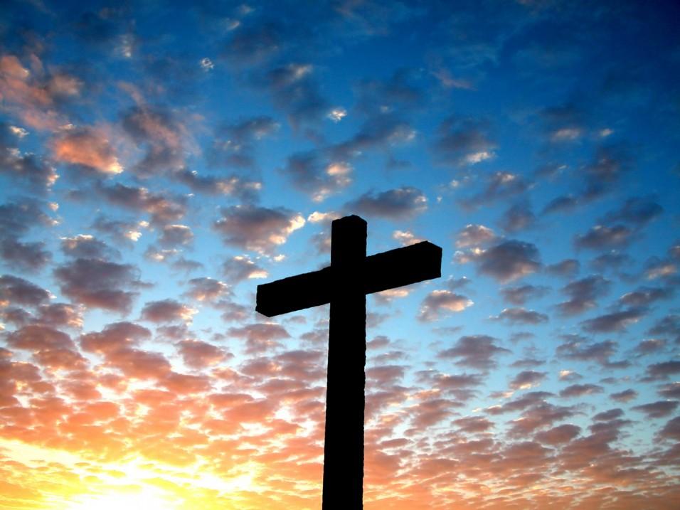 Cross Against Sky - Christian Voices