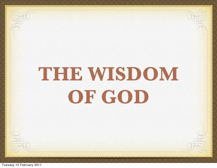 God's Wisdom - Christian Voices
