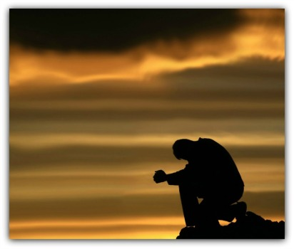 Man Praying - Turning to God