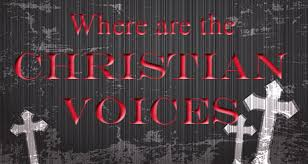 Where Are Christian Voices?