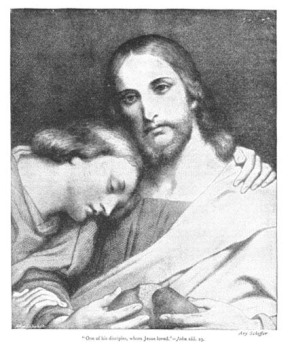 34. Beloved Disciple by Ary Scheffer