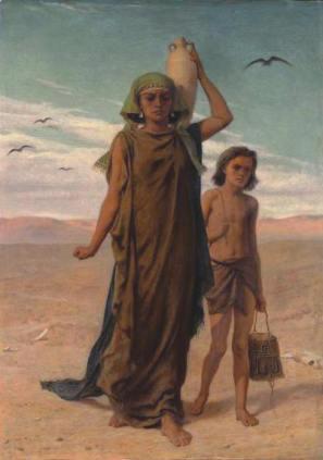 51. Hagar & Ishmael Augo4