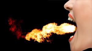 57.Tongue-fire
