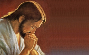 59. Jesus-Praying-to-God