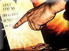61. God-Writes-TenCommandments