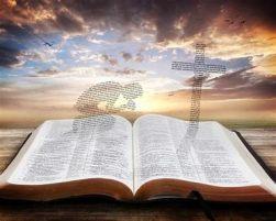 J9. OPEN BIBLE w IMAGE